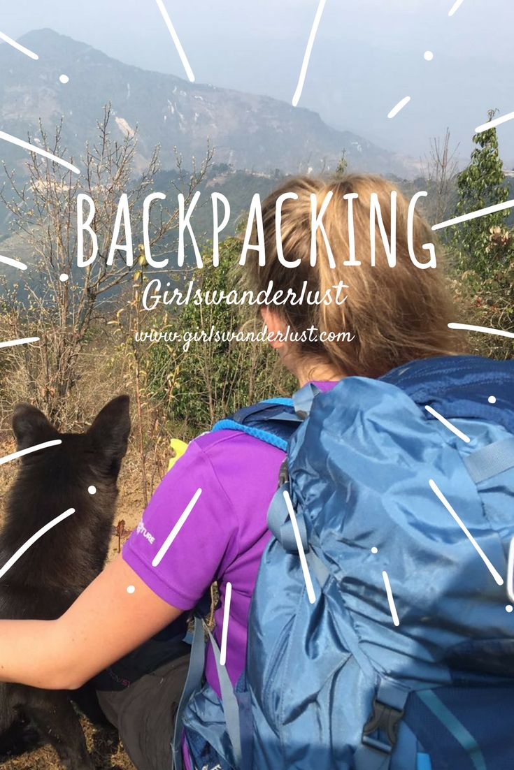 Backpacking. Girlswanderlust. Get inspired by our posts about backpacking. Become a backpack king or queen! #travel #wanderlust #girlswanderlust #traveling #reizen #backpack #backpacken
