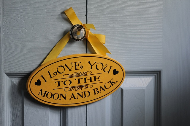 I Love You to the Moon and Back by dzignjulz, via FlickrNewborns Tyler, The Moon