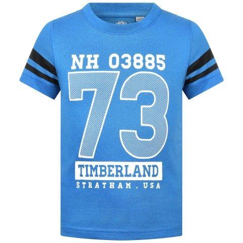 Timberland T-Paita pojalle; ihanan kirkkaan sininen paita!!!