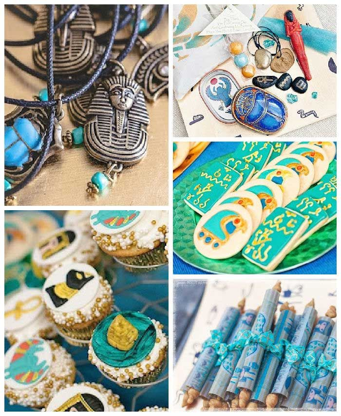 Cleopatra + Egyptian themed birthday party via Kara's Party Ideas KarasPartyIdeas.com #egyptianparty (2)