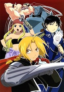 Full Metal Alchemist.  awesome. I thought better then 'brotherhood'.  I thought this one had a better ending.  And the homunculuses were super awesome.
