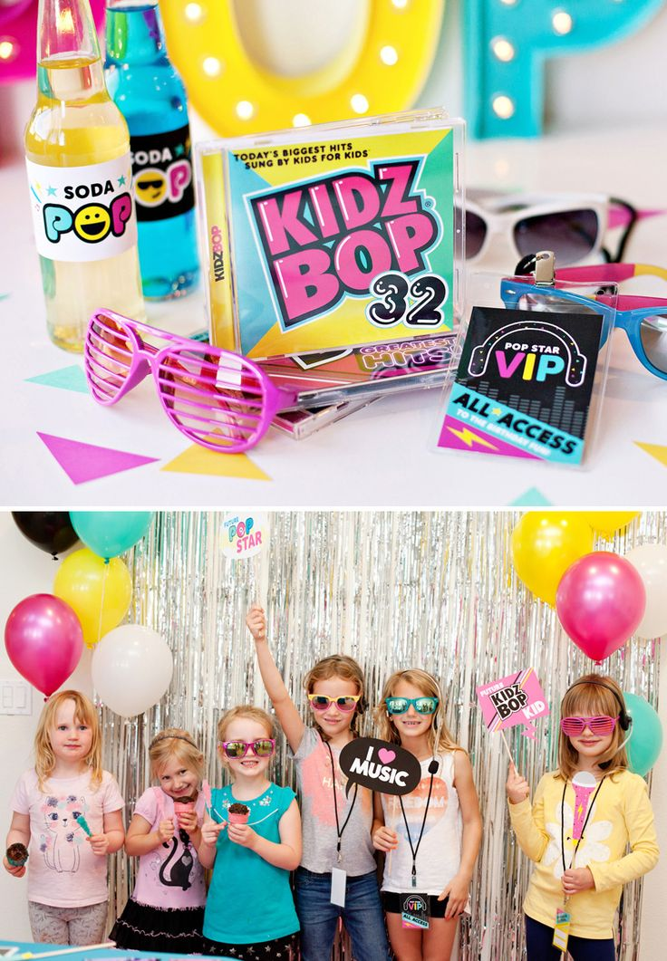 I'm excited to share some more details from our Ultimate Pop Star Party project with KIDZ BOP! Here's a closer look at the place that always seems to draw