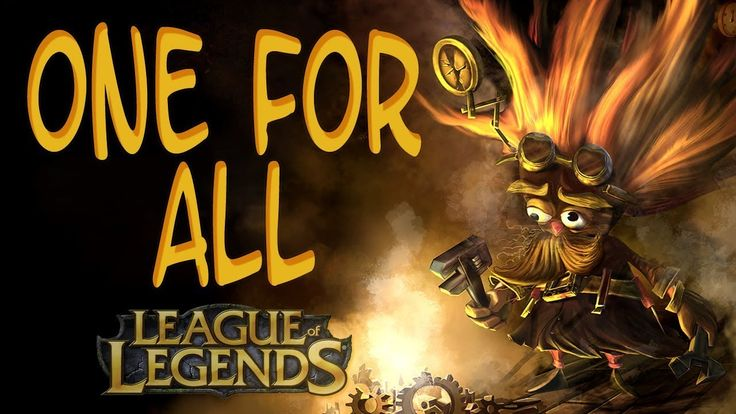 League of Legends - One for all Epic ultimate 2016 (Special edition)