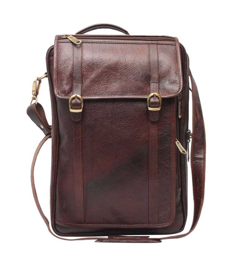 Loved it: Comfort Office Back pack Brown Leather 15 inch LaptopBackpacks, http://www.snapdeal.com/product/comfort-office-back-pack-brown/1250599240