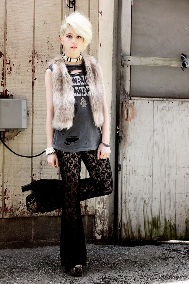 i want this outfitFaux Fur, Lady Crushes, Fashion Favorite