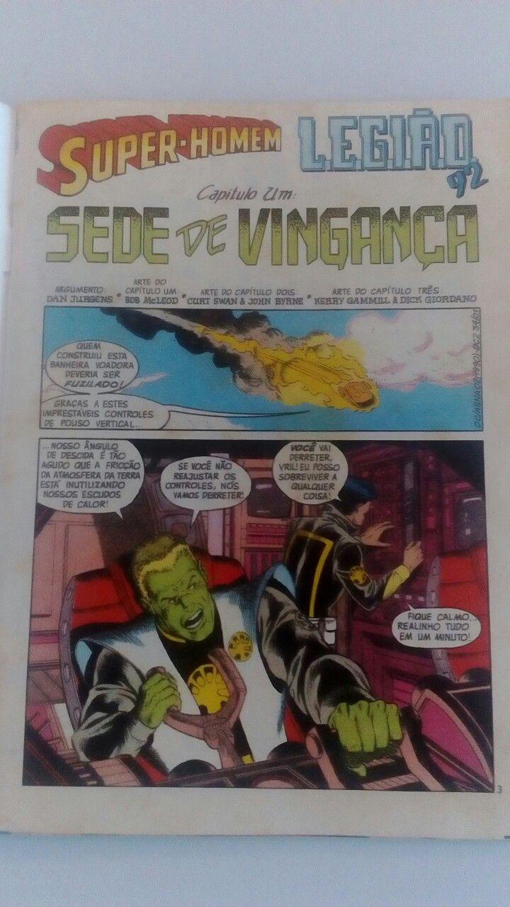 Eudes - Criado pela quadrinista Keith Giffen, o grupo L.E.G.I.A.O. (Liga Extra-Governamental Interplanetária Adjuvante da Ordem) surgiu nas páginas de Invasão como o predecessor da Legião dos Super-Heróis