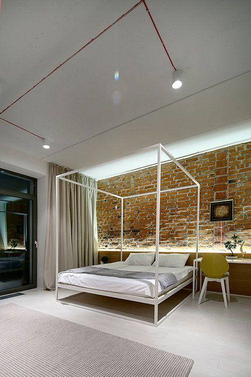 Hippe slaapkamer voor een jong stel