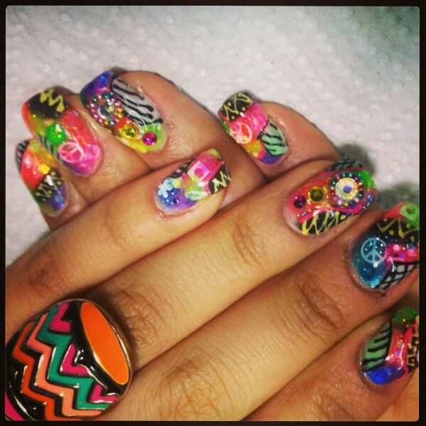 Acrilic nails by yos