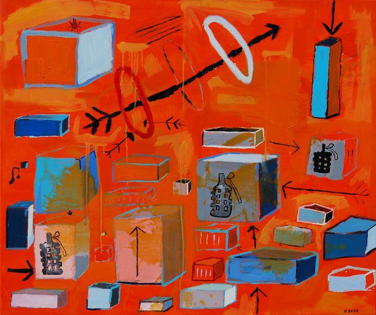 """""""CAMBIOS"""" 120 x 100 cm Ténica mixta 2013 (vendido)"""