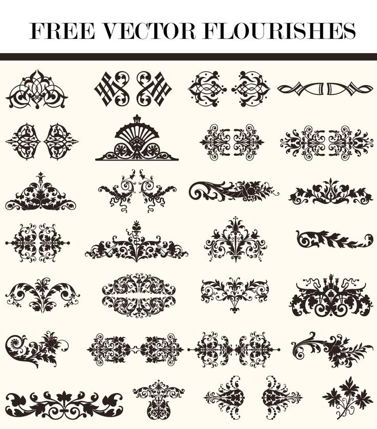 1000+ images about Design Elements on Pinterest | Vintage labels ...