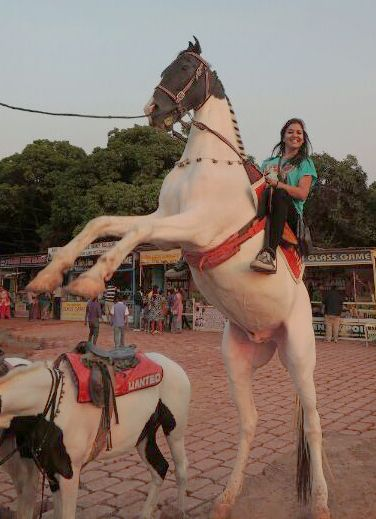 flying wth my horse #GrabYourDream #Adventure #Travel #Contest