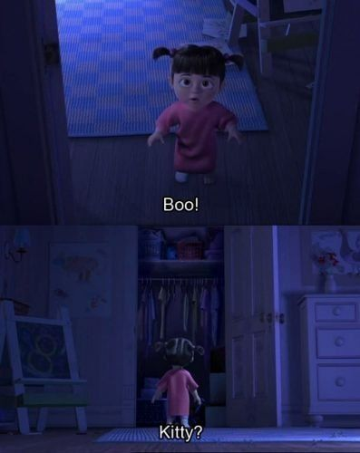 monsters inc. Saddest moment ever.