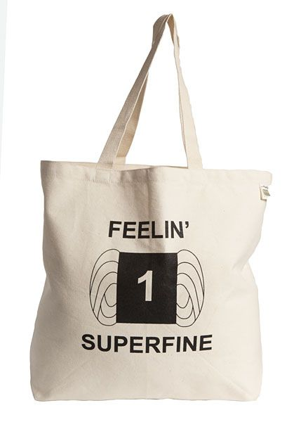 Superfine Tote Bag  - another one I'm hoping @Hollie Baker A L E Y |  V A N  |  L I E W Webb will appreciate with me