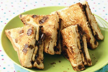Treat the family to these easy chocolate and banana toasties - the kids, in particular, will love them!