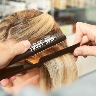 Straight hair tutorial