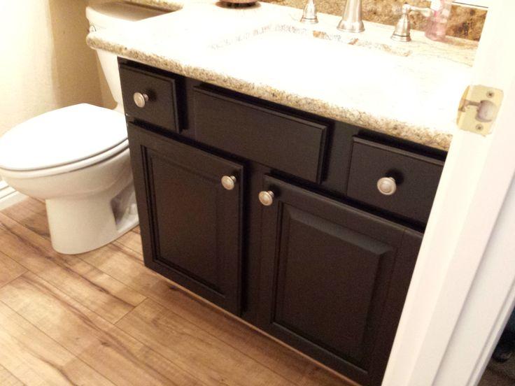 cupboard resurfacing | Cabinet Refinishing – Espresso