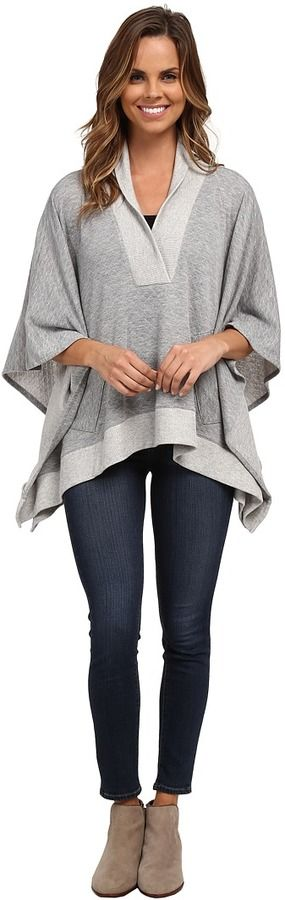 Miraclebody Jeans Quilted Poncho