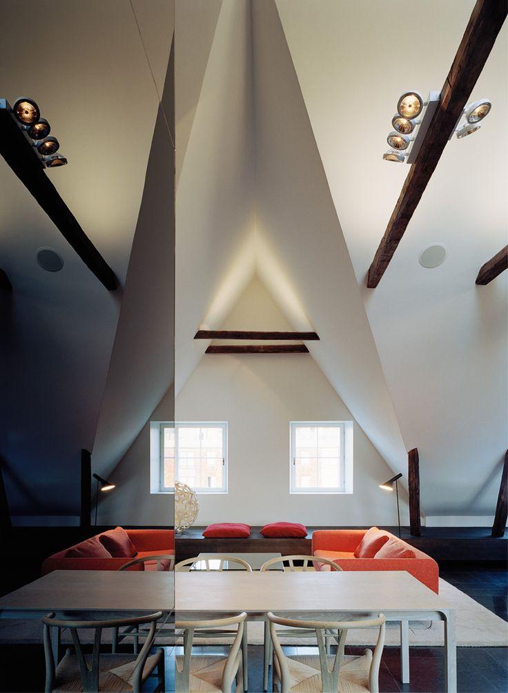 Private loft apartment with spa by Claesson Koivisto Rune. Photo Åke Esson Lindman