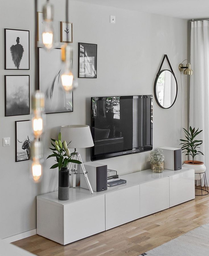 How to decorate walls by mixing elements