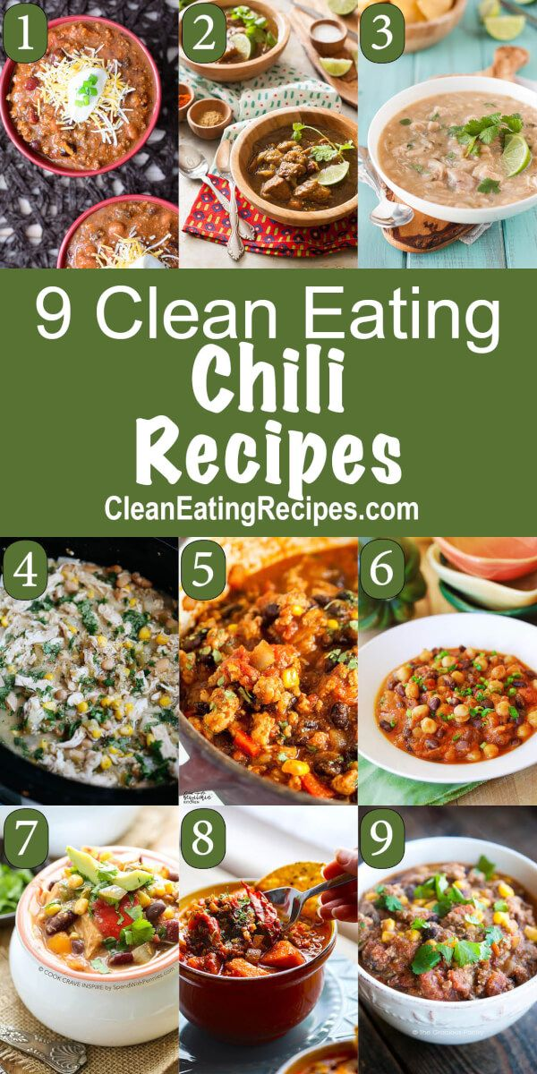 I love Clean Eating chili and this list has some really good ones to choose from.