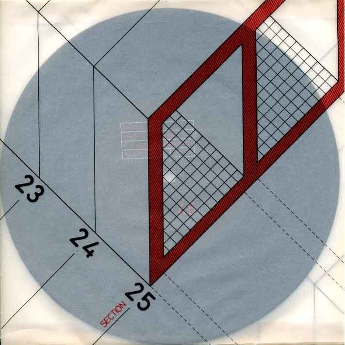 FAC-18 Girls Don't Count - Section 25 1980 Design di Ben Kelly, Peter Saville (© Factory Records)