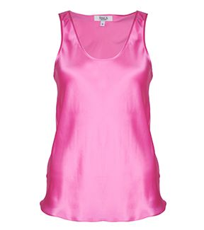 fleur b. Silk Vest in Pink