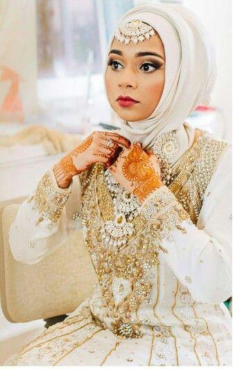 White desi hijabi