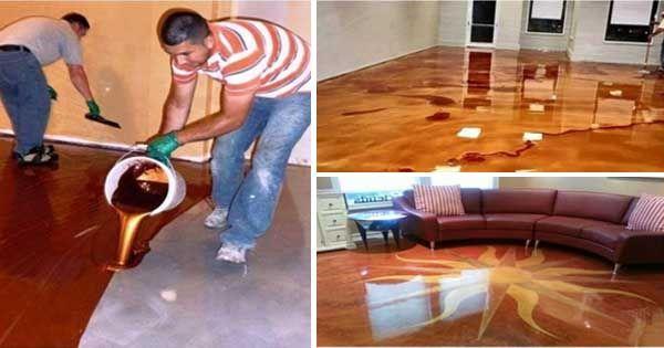 Kreatívne DIY nápady a video-návody na nádherné epoxidové podlahy, ktoré budete chcieť aj Vy doma. Epoxidová podlaha, projekt urob si sám, ako sa to robí