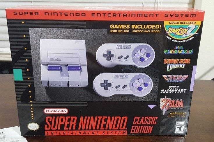 Super Nintendo Entertainment System: Super NES Classic Edition: $70.00 (0 Bids) End Date: Tuesday Mar-13-2018 8:48:05 PDT Buy It Now for…