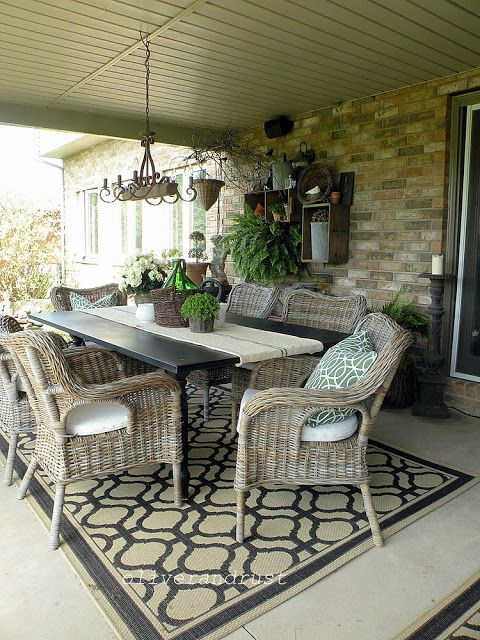Rooms: The Oliver And Rust House Tour / Cover Patio