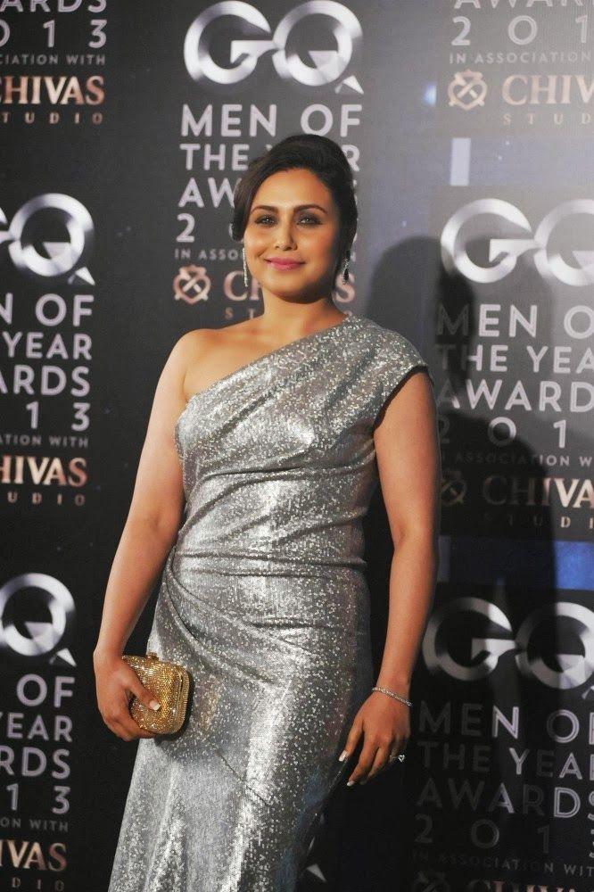 Rani Mukherjee at GQ Man of The Year Awards 2013.