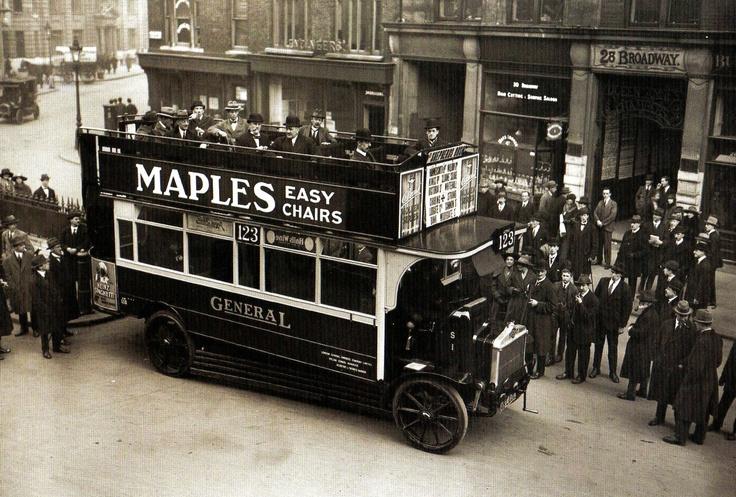 The 'K' type of motor bus - London - 16 November 1920