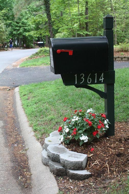 mailbox landscape landscaping