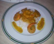 Recette Curry Thaï de crevettes au coco par lameresup - recette de la catégorie Poissons