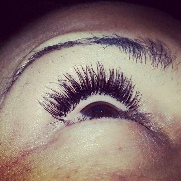 #lashes#extensions#singles#individual#beautiful#natural#barrettkirsten