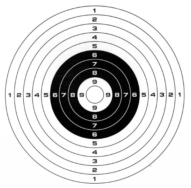 Gamo Paper Targets (100 pack) - $3.48 (Add-on Item)