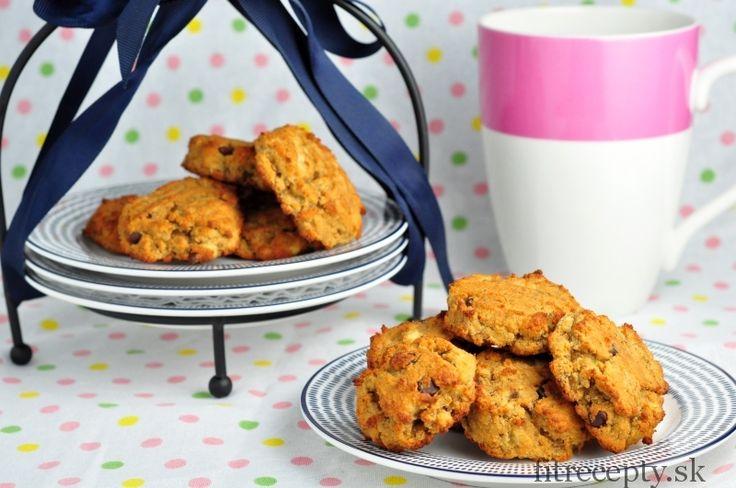 Banánové cookies z kokosovej múky - bez cukru a bez lepku - FitRecepty