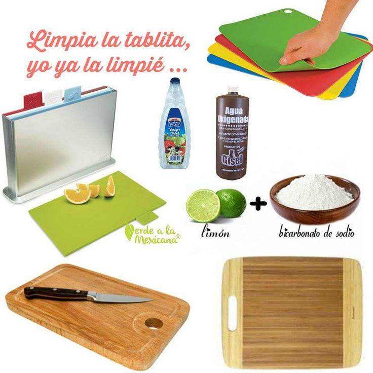 De madera, bambú o plástico, aquí te decimos cómo limpiar la tabla de picar sin usar químicos tóxicos
