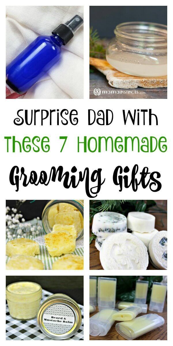 surprise dad with these 7 homemade grooming gifts diy things to rh pinterest com