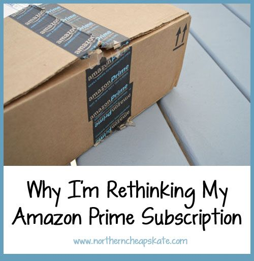 I used to be in love with Amazon Prime. Now I'm rethinking that Amazon Prime Subscription. See why.