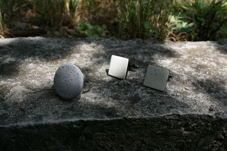concrete jewelry for men