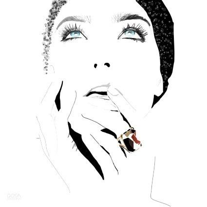 Fashion illustration by Gosia Grochala, via Behance