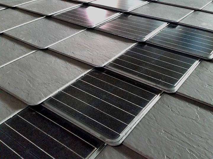 Tegole di ardesia ceramica Ardogres e Tegole fotovoltaiche Ardosolar