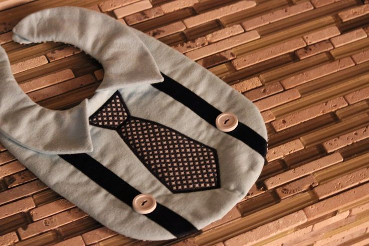 @Kristen I couldn't find the one I originally sent you but here's one that seems to be similar: Baby Boys Crafts Ideas, Bibs Baby, Kids Ideas, Sewing Clothing For Baby Boys, Ties Bibs, Baby Bibs, Baby Boys Bibs, Bibs For Boys, Baby Stuff