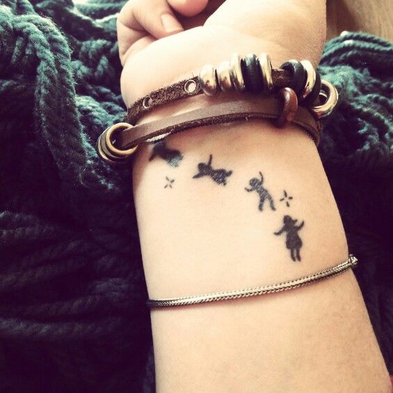 Tattoo Ideas To Represent Son: Children Tattoo. This Tattoo Is On My Wrist. I Got This To