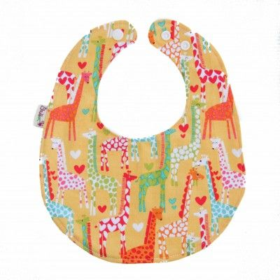 A stylish, modern and practical bib for your baby or toddler. Fits 0+