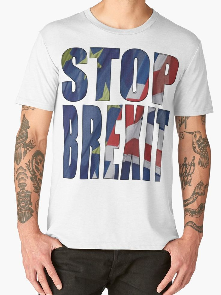 """""""STOP BREXIT"""" T-Shirts & Hoodies by Paparaw 