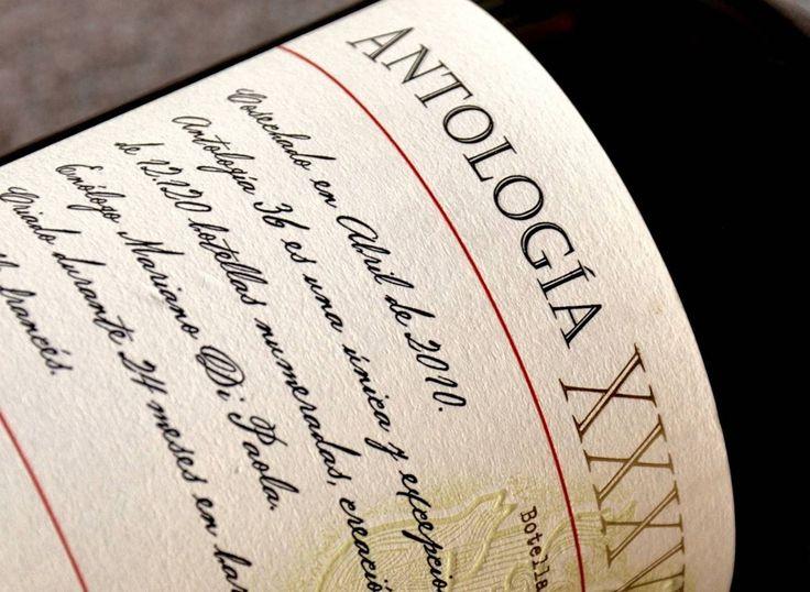 Ano após ano, Mariano di Paola elabora novos vinhos para a linha Antologia, combinando os lotes da mais alta qualidade separados em provas individuais das barricas.