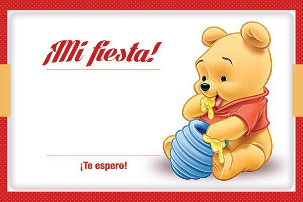 Invitación Winnie Pooh Para Imprimir Gratis Kit Imprimible