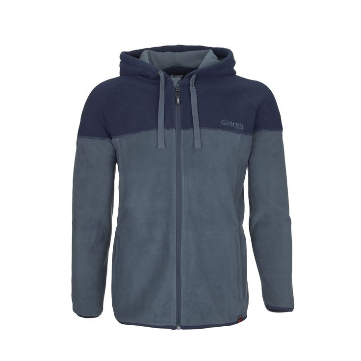 A stylish hooded polar fleece jacket for everyday wear in outdoor activities and city walks.